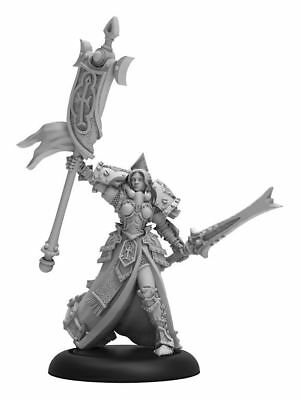 Warmachine Protectorate of Menoth High Exemplar Cyrenia Warcaster PIP 32130