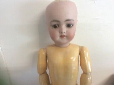 """Antique German Doll Composition Body 19"""""""