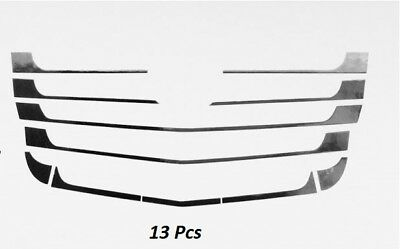 Mercedes Actros MP4 Radiator  Front Grille Covers  Chrome  13PCS