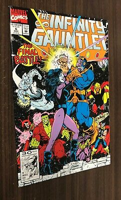 INFINITY GAUNTLET #6 (Marvel 1991) -- THANOS Movie -- VF/NM Or Better