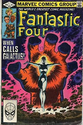 THE FANTASTIC FOUR # 244 / FINE / 1st NEW NOVA / JOHN BYRNE.