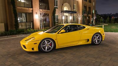 Ferrari 360 Modena  F1 transmission  Capristo exhaust,  Maintenance up to date.  Clean title