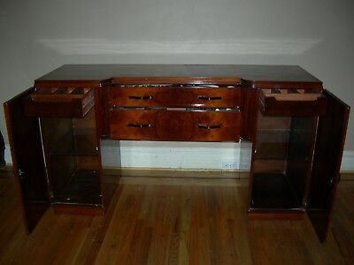 Handsome art deco style buffet /sideboard with double doors