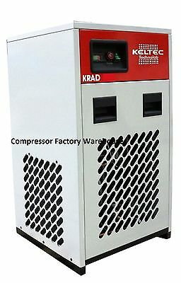 New 125 CFM KRAD 125 Non-Cycling Refrigerated Compressed Air Dryer with filters