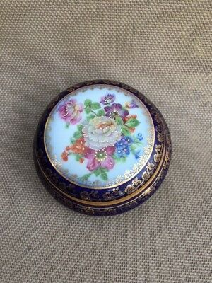 Beautiful Vintage Limoges Trinket Box Jewelry Box Made In France