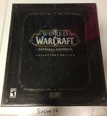 World of Warcraft: Battle for Azeroth Collector's Edition - PC - Ready To Ship!