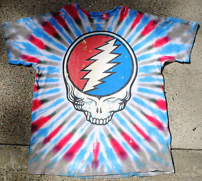 Grateful Dead Shirt, 1995 Vintage, Jerry Garcia, Fare Thee Well, Rare, Hippie