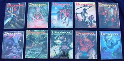 Dungeon Magazine * Lot of 10 * #31-#40 * AD&D TSR