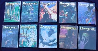 Dungeon Magazine * Lot of 10 * #41-#50 * AD&D TSR