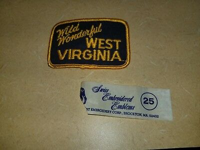 West virginia Patch Wild Wonderful