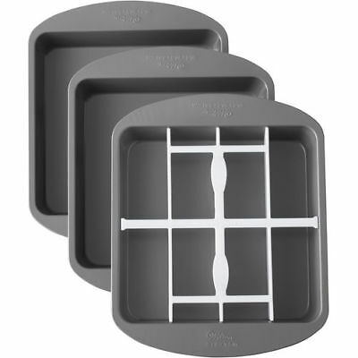 NEW Wilton Checkerboard Cake Pan Set Square
