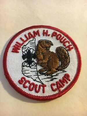 """Greater New York Councils   WM. H.  Pouch Scout Camp   3""""  Round  Patch"""