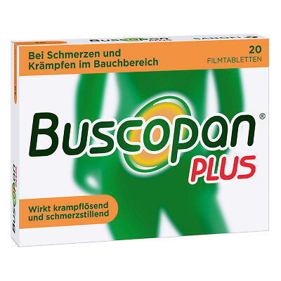 Buscopan plus 20stk PZN 02483617
