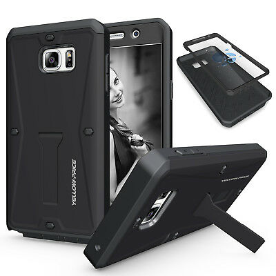 SAMSUNG Galaxy S6 S7 Edge CASE COVER Shockproof Stand Heavy Duty Armor Tough CA