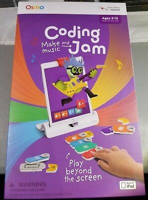 OSMO Coding Make Music and Jam for iPad BRAND NEW Sealed requires base
