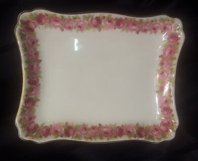 Royal Doulton 'ROSES' series, cake plate.Made in England