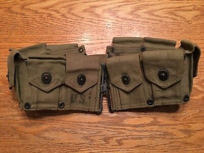 Very Nice WW2 Issued US Military Cartridge Belt - M1 Garand use