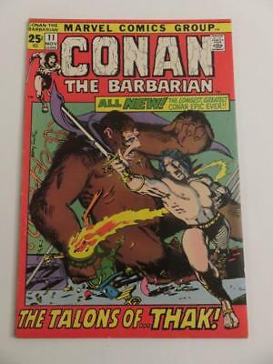 """Conan The Barbarian #11 Vg+ """"rogues In The House"""" Robert E Howard Story"""