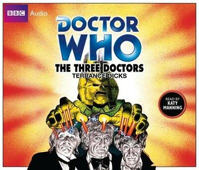 Doctor Who and The Three Doctors read by Katy Manning (CD-Audio)