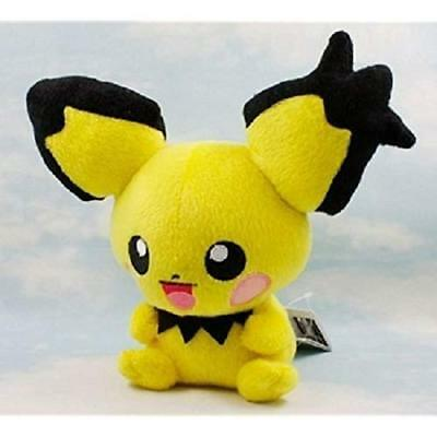 "Pikachu Gift US Plush Collection Center Stuffed Doll Animal Pokemon Pichu 7"" Toy"