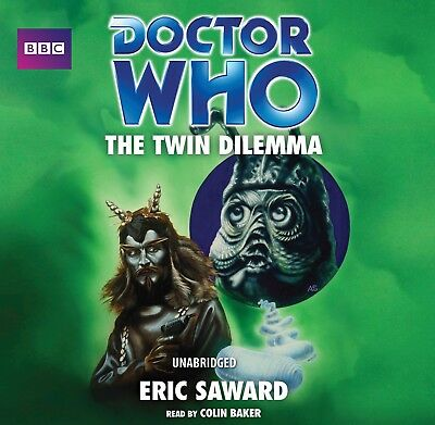Doctor Who and The Twin Dilemma read by the 6th Doctor Colin Baker! (CD-Audio)