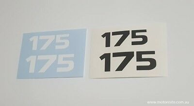 Yamaha TY DT 175 Decals