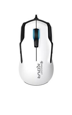 ROCCAT - Kova Wired Optical Gaming Mouse with RGB Lighting - White
