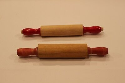 Vintage Children's Kitchen Rolling Pins in Great condition! Lot of Two