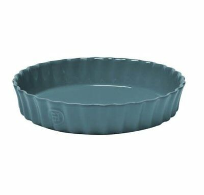 NEW Emile Henry Quiche Flan Dish Blue
