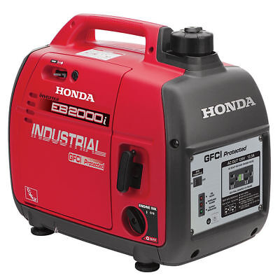 Honda Eb2000i Industrial Inverter Generator GFCI Protection Super Quiet NEW