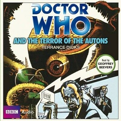 Doctor Who and The Terror of the Autons read by Geoffrey Beevers (CD-Audio)