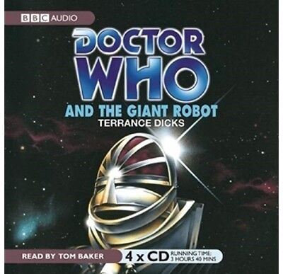 Doctor Who and The Giant Robot read by the legendary TOM BAKER! (CD-Audio)