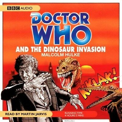 Doctor Who and The Dinosaur Invasion read by Martin Jarvis (CD-Audio)