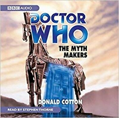 Doctor Who and The Myth Makers read by Stephen Thorne (CD-Audio)