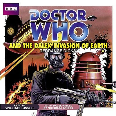 Doctor Who and The Dalek Invasion of Earth read by William Russell (CD-Audio)