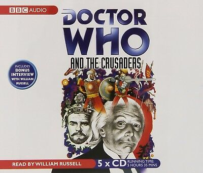 Doctor Who and The Crusaders read by William Russell (CD-Audio)