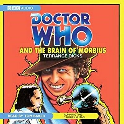 Doctor Who and The Brain of Morbius read by the immortal TOM BAKER! (CD-Audio)
