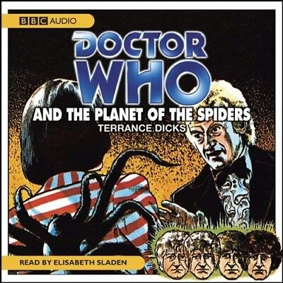 Doctor Who and The Planet of the Spiders read by Elisabeth Sladen (CD-Audio)