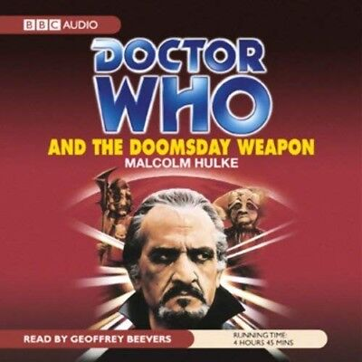 Doctor Who and The Doomsday Weapon read by Geoffrey Beevers (CD-Audio)