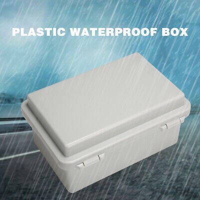 Waterproof IP65 Enclosure ABS Control Electronic Junction Box Terminal Cable DIY