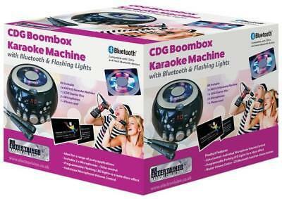 Home Karaoke Machine with Party Disco Lights. Chart Hits & Kids Party CDGs Inc.