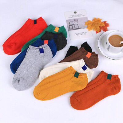 Womens Cute Short Cotton Socks Casual Sock Elastic Ankle High Everyday Hosiery