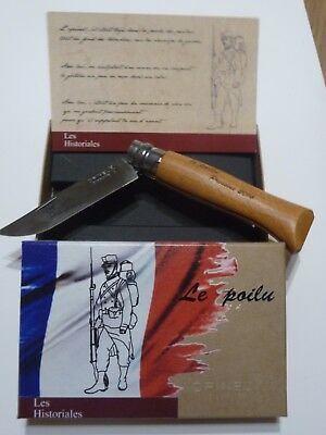 couteau opinel n° 8 carbone guerre 14-18