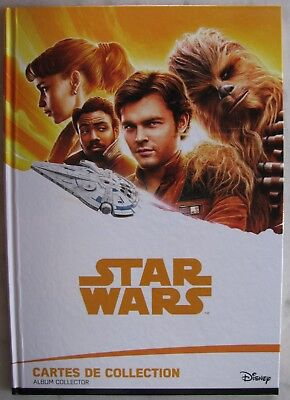 Star Wars Solo Leclerc 2018 Album Collector Complet 90 Cartes Neuf