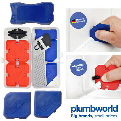 Cramer Fugi 5 Piece Grouting & Silicone Profiling & Applicator Tool Kit in Box