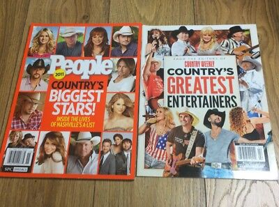 Collectable Country Music Magazine Country Weekly People 500