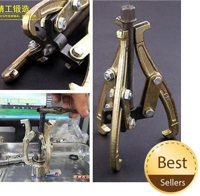 3 Jaw Bearing Puller Auto Gear Remover Pulling Extractor Tool w/ Reversible Legs