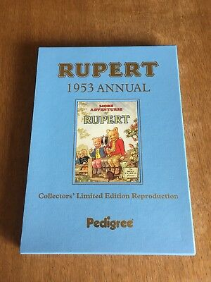 RUPERT BEAR 1953 and 1955 Facsimile Annuals both in Excellent Condition