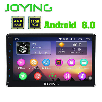 Joying Jy-Uo134P4V Mp5 Autoradio Android Doppelt 2Din Antenna Aux-In Gps Wifi Bt