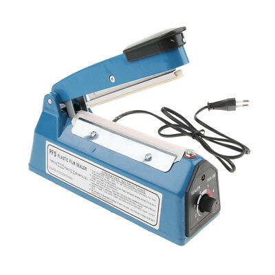 Heat Sealer Sealing Machine Commercial Europlug 4'' 10cm US Plug 220V